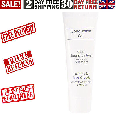 Rio Conductive Gel 85 Ml Suitable For Face And Body Clear,Fragrance-Free Formula • 6.75£