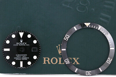 $ CDN2236.86 • Buy Rolex Submariner Chromalight Dial With Insert For 116610LN FCD9898