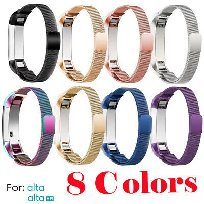 AU1.99 • Buy Fitbit Alta / Alta HR Fitness Tracker Stainless Steel Strap Wrist Band Bracelet
