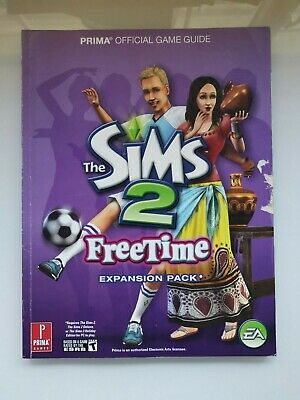 The Sims 2 Freetime Free Time Official  Prima Game Guide Good Used Condition • 3.99£