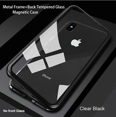 AU9.45 • Buy Tempered Glass Magnetic Phone Case For IPhone 11 Pro Max SE XR X XS MAX 7 8 Plus