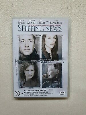 AU17.95 • Buy The Shipping News DVD Kevin Spacey