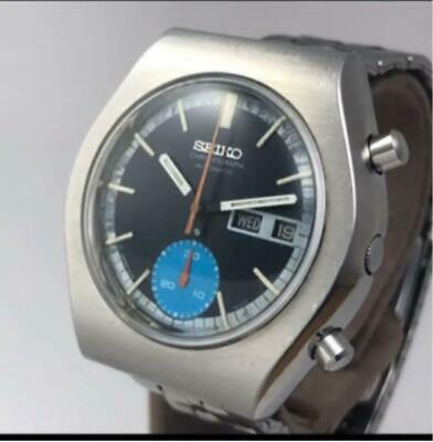 $ CDN613.36 • Buy Seiko 6139-8020 Chronograph Day Date Automatic Mens Watch Authentic Working