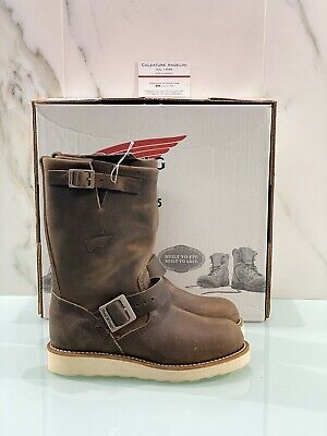 Red Wing Engineer Woman Ankle Boot Brown Leather Boots 36 • 179.59£