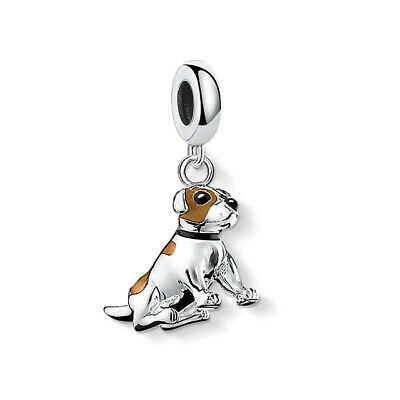 AU27.90 • Buy JACK RUSSEL DOG S925 Sterling Silver Charm By Charm Heaven