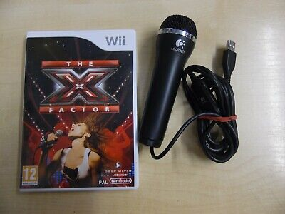 X Factor Game And Wired Usb Microphone For Nintendo Wii • 15.79£