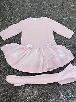 Baby Girls Pink Spanish SytleTutto Piccolo Tutu Checked Dress Age 4 Moschino Fit • 9.99£