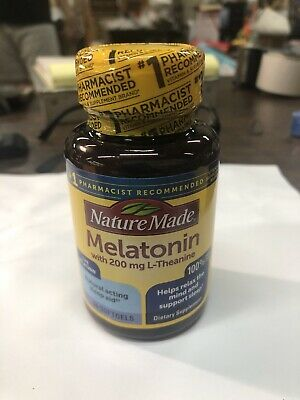 $ CDN6.71 • Buy Nature Made Melatonin  200 Mg L-Theanine 60 Softgels