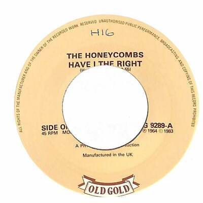 The Honeycombs - Have I The Right  - 7  Vinyl Record Single • 3.60£