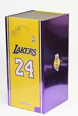 $599 • Buy Enterbay NBA Lakers KOBE BRYANT #24 And #8 Masterpiece 1/6 Scale