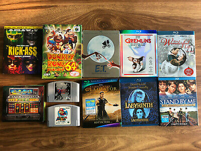 $ CDN59.99 • Buy Lot Of 7 Blu-rays, 3 N64 Games, And A DVD-Audio Disc
