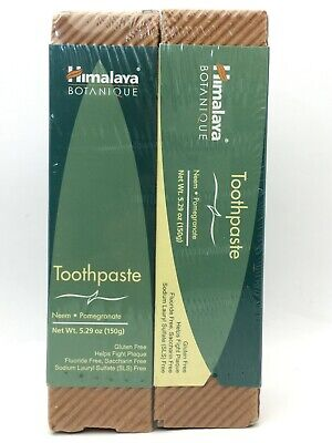 Himalaya Neem And Pomegranate Toothpaste, Fluoride-Free 5.29oz New Sealed C15 C • 12.46£
