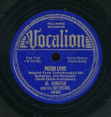 £8.71 • Buy 78tk-dance-VOCALION 4888-Al Donahue & Orch.-(Moon Love / To You)