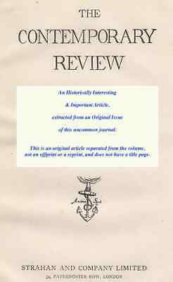 Education And School [Thring And Uppingham]. An Original Article From The Contem • 14.99£