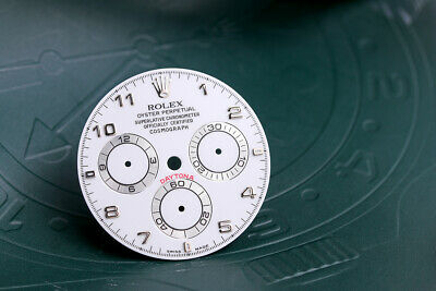 $ CDN867.72 • Buy Rolex Daytona White Arabic Dial For Model 116519 - 116520 FCD10671