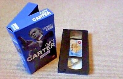 GET CARTER Special Edition WARNER UK PAL VHS VIDEO 2000 Michael Caine Roy Budd • 9.99£