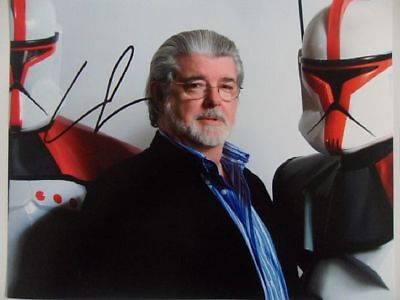 George Lucas  Best Picture  8x10 Signed Photo Auto • 19.36£