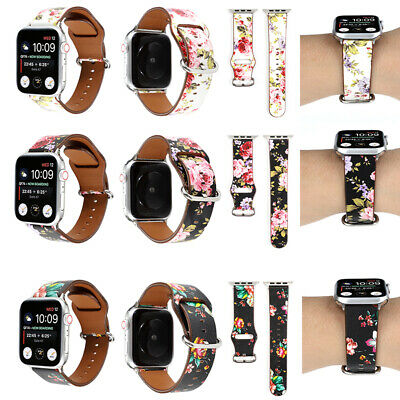 AU17.99 • Buy Genuine Leather Apple Watch Band Strap IWatch Series SE 6 5 4 3 2 40 44mm Wrist
