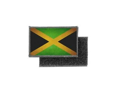 Patch Printed Badge Vintage Flag Jamaica Rasta • 3.77£