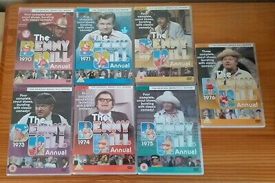 The Benny Hill: 1970 - 1975 Annuals (Dvd) • 19.95£