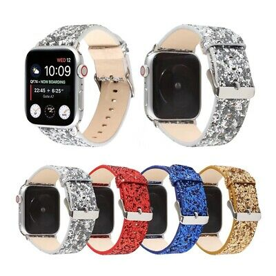 AU19.99 • Buy Apple Watch Band Leather Strap 38/40/42/44 Clasp Women Men Series SE 6 5 4 3 2 1