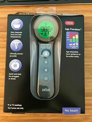 $ CDN173.18 • Buy Braun 3-in-1 No Touch Thermometer (BNT400) New Contactless Digital Infrared Fore
