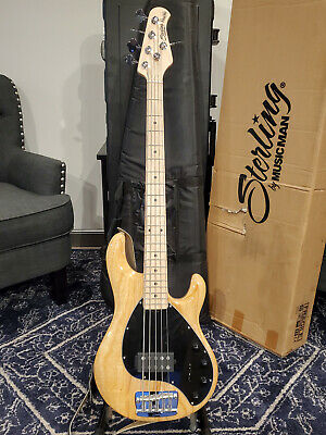 $ CDN992.11 • Buy Sterling By Music Man RAY35 5-String Bass Guitar - Natural Finish