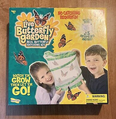 £18.08 • Buy Live Butterfly Garden With Caterpillar, New In Sealed Box