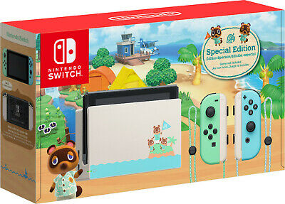 $ CDN879 • Buy Animal Crossing New Horizon Special Edition Nintendo Switch Console - Brand New