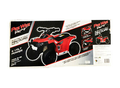 AU119.99 • Buy Peewee Racing Electric 6v Mini Quad Ride On Toy