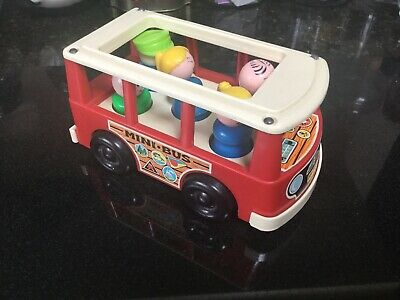 Fisher Price Vintage Little People 1969 Mini Bus  • 6.99£