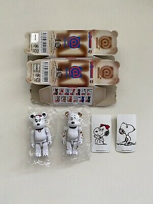 $49.99 • Buy Peanuts 100% Bearbrick Series 40 S40 Cute Pair 2 Set Belle Secret Chase Snoopy