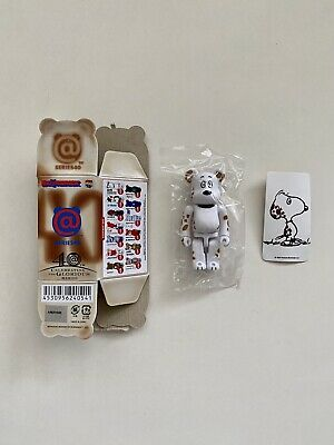 $29.99 • Buy Peanuts 100% Secret Bearbrick Be@rbrick Series 40 S40 Cute Rare Medicom Snoopy