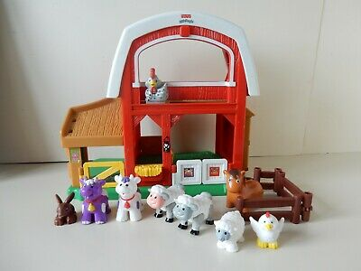 Fisher Price Little People Farm With Sounds And 8 Animals • 9.50£