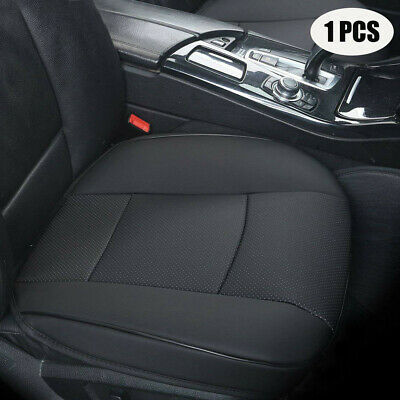 $ CDN42.85 • Buy Car Seat Cover Black PU Leather Seat Cushion Pad Mat For Auto Chair Universal
