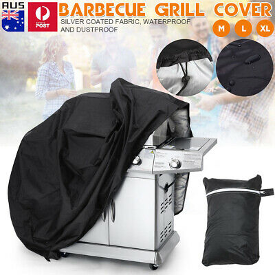 AU20.37 • Buy BBQ Cover 4 Burner Waterproof Outdoor Gas Charcoal Barbecue Grill UV Protector