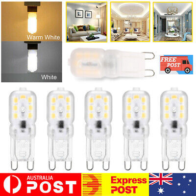 AU8.39 • Buy G9 LED 3W Capsule Light Bulb Replace Halogen Lamps 220-240V 6000K 3200K White