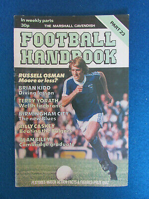 The Marshall Cavendish Football Handbook - Part 23 - 1978 • 2.99£