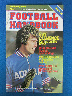 The Marshall Cavendish Football Handbook - Part 35 - 1979 • 2.99£