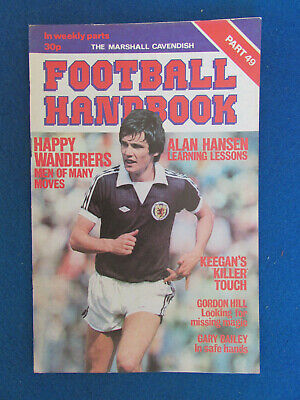The Marshall Cavendish Football Handbook - Part 49 - 1979 • 2.99£
