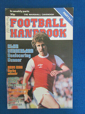 The Marshall Cavendish Football Handbook - Part 62 - 1979 • 2.99£