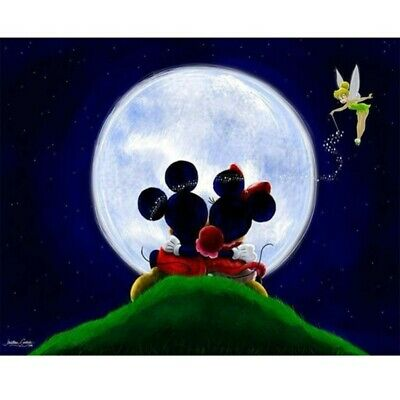 $ CDN15.52 • Buy Full 5D Drill Diamond Painting Cross Stitich Mickey Mouse Embroidery Handmade