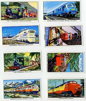 Kelloggs  The Story Of The Locomotive Series 2 . 14 Cards. • 0.99£