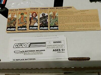 $ CDN25.34 • Buy GI Joe 25th Anniversary File Card Lot Snake Eyes Scarlett Duke Gung Ho Roadblock