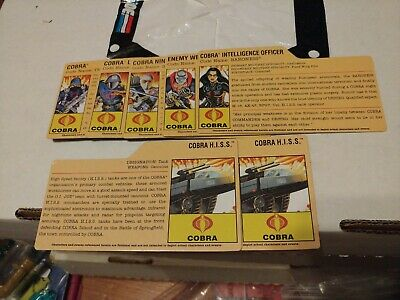 $ CDN30.84 • Buy GI Joe 25th Anniversary File Card Lot Cobra Commander Destro Baroness Stormy