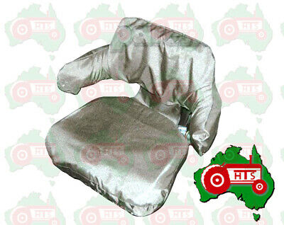 AU69 • Buy Tractor Seat Cover Wrap Around Grey Universal Fit, Waterproof, Easy To Install