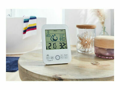 AURIOL Room Climate Monitor Humidity Alarm, Mould And Flu Indicator, Heat Index • 13.99£