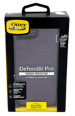 AU67.44 • Buy New Rugged Case By Otterbox Defender Pro For 5.5  IPhone 8 Plus & 7 Plus Purple