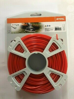 STIHL STRIMMER LINE 2.7mm X 65m FOR PETROL STRIMMERS WIRE CORD HEAVY DUTY • 18.95£