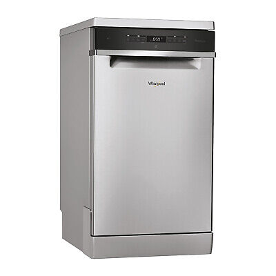 View Details Whirlpool Freestanding WSFO3T223PCX 45cm Dishwasher A++ - Stainless Steel • 429.99£
